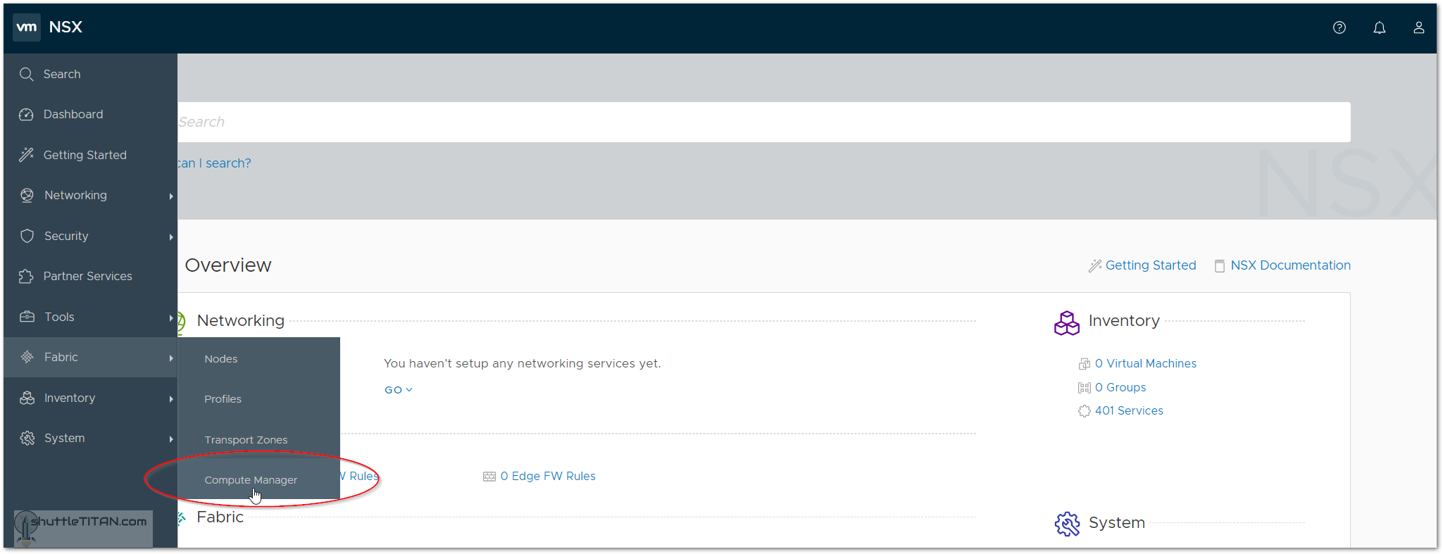 NSX-T v2.3 Installation: Step 2 – Add Compute Manager