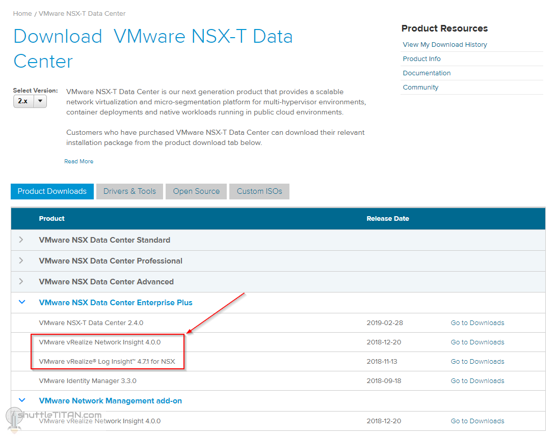 Preparing the vSphere Infrastructure for NSX-T v2.4 Install/Upgrade