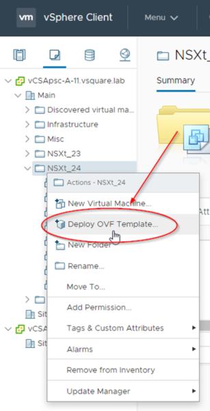 NSX-T Installation Series: Step 10 (Option 1) – Install NSX-T Edge VM on ESXi using vSphere UI